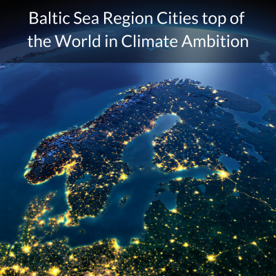 UBC-CDP Report on Climate Leadership from Baltic Sea Region Cities